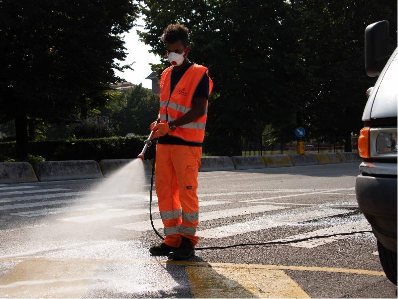 Ripristino delle strade, post-incidenti - Impresa Sangalli Giancarlo & C. S.r.l.
